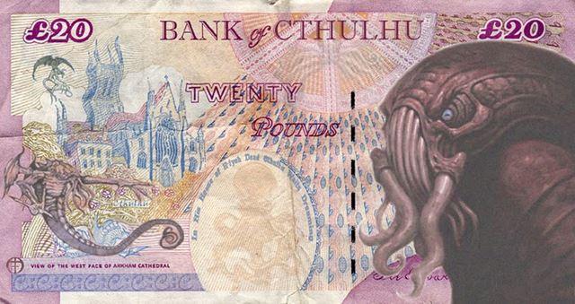 Купюра банка Ктулху