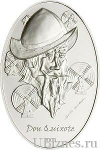 Монета с Дон-Кихотом