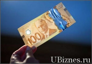 Пластиковые банкноты Канады