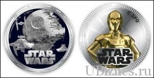 Монеты по фильму Star Wars