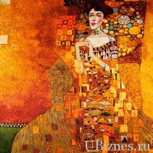 «Золотая Адель»,Густав Климт, 135 млн. долларов