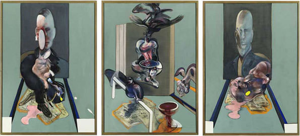 «Триптих», Френсис Бэкон, $ 86 млн.