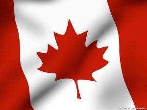 Флаг Канады - 10 место.