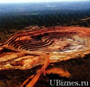 Месторождение алмазов Фукаума в Анголе