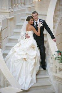 Свадьба у счастливой пары