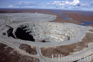 Месторождение алмазов Экати в Канаде.
