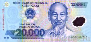 Двадцать тысяч донгов