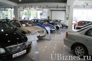 Субаг. по продаже автомобилей