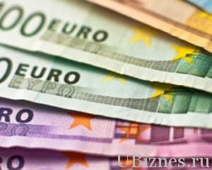 Возрастание цены евровалюты