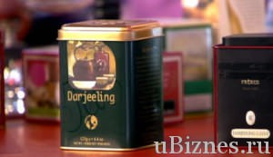 Коробка чая Дарджилинг