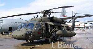 4 место – Sikorsky UH-60 Black Hawk – $21,3 млн