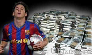 Деньги футболистов