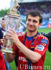 Алан Дзагоев - 24 100 000 евро