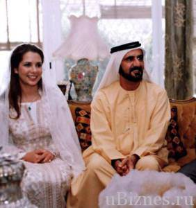 Мохаммед бин Рашид аль Мактум и принцесса Саламе