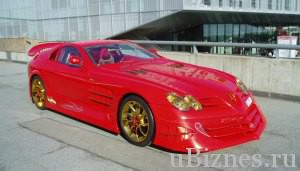 Mercedes-Benz SLR McLaren 999 Red Gold Dream