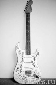 ender Stratocaster фонда Reach out to Asia