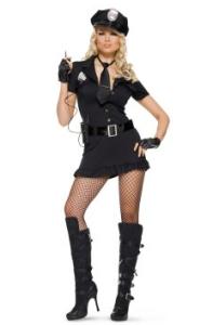 Костюм женщины полицейского