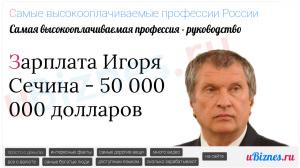 Директора получают больше всех в РФ