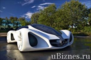 Машина будущего от Мерседес - BIOME