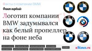 История логотипа БМВ