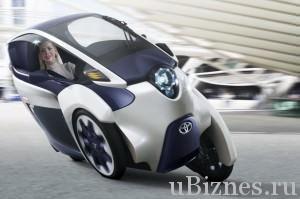 i-ROAD Concept от Тойота